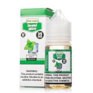 Pod Juice Salts - Jewel Mint (30ml)