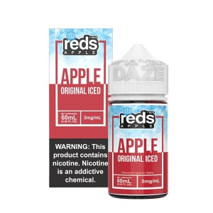 Vape 7 Daze Reds Apple Iced (60ml)