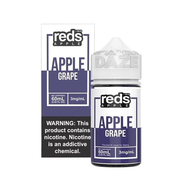 Vape 7 Daze Grape Reds Apple (60ml)