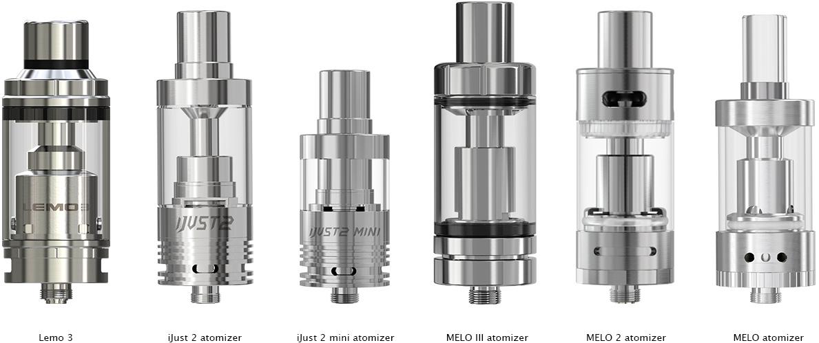 ELEAF IJUST 2//MELO//MELO 2//MELO 3//MELO 3 MINI//LEMO 3 COIL PACK 5 PCS   RESISTENZE