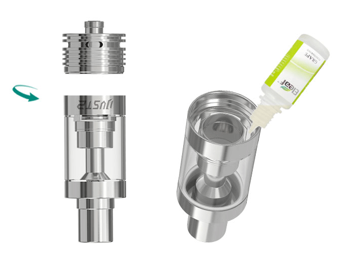 iJust2 Atomizer Liquid Fill