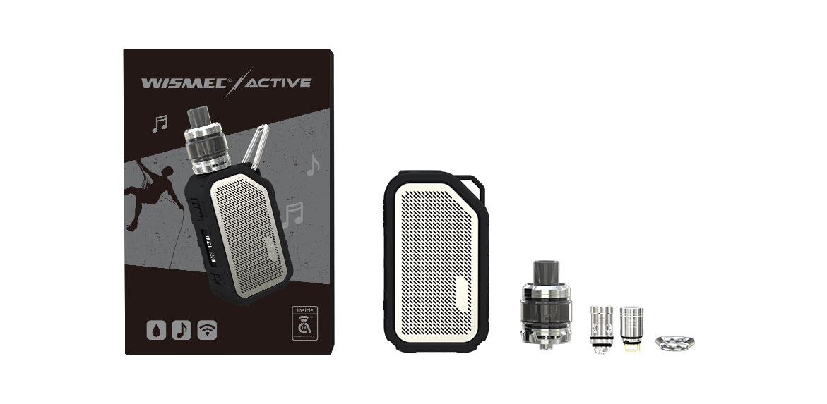 WISMEC ACTIVE with Amor NS Plus kit